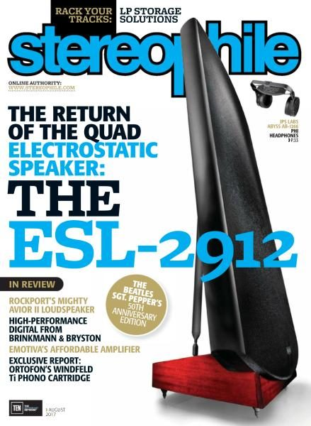 Magazine Stereophile, Août 2017
